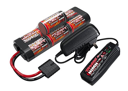 Traxxas Battery Charger Completer Hump Pack with 2-amp fast charger and 8.4V NiMH battery