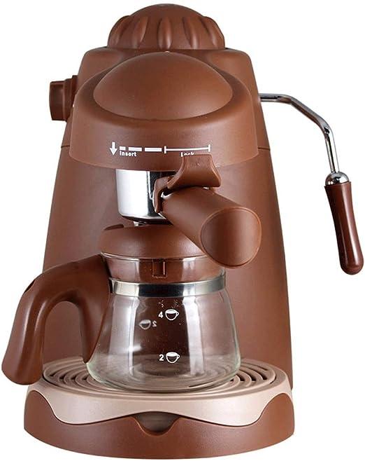 R-LKK Cafetera, Máquina de café tradicional, filtro de café de la máquina 800W Cafetera for el café instantáneo, café express, función anti-goteo, apagado automático de funciones ,Para espresso cocina: Amazon.es: Hogar