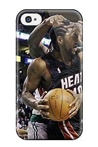 Premium Sports Nba Basketball Kevin Garnett Boston Celtics Miami Heat Udonis Haslem Heavy-duty Protection Case For Iphone 4/4s