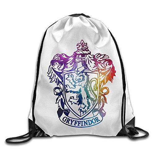 Harry Potter Gryffindor Crest Watercolor Sport Backpack Drawstring Print Bag
