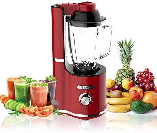 Picadora Electrica de Alimentos, Robot de Cocina Multifunción con Taza de Mezcla Material de 1.5L PP, 600W, Adecuado para Jugos, Batidos, Carne Molida, Ensalada de Verduras,Red: Amazon.es: Hogar
