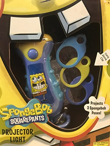 Spongebob Squarepants Projector Flashlight (Spongebob Flashlight)