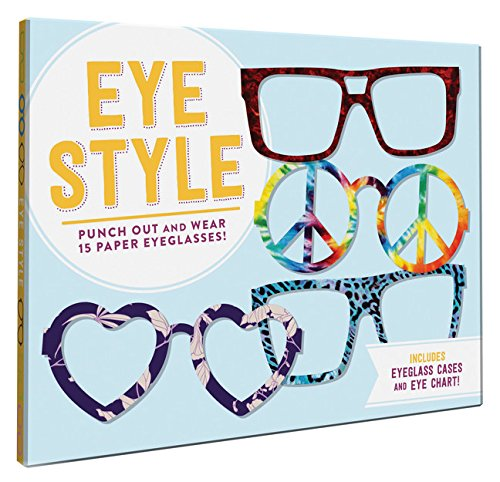 Eye Style: Punch out and wear 15 paper - Tween Eyeglasses
