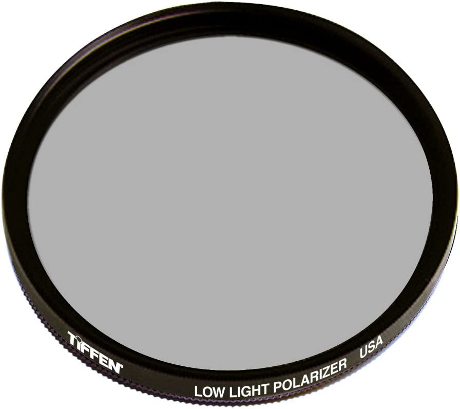 Tiffen 77LLPOL 77mm Standard Rotating Low Light Polarizer Filter