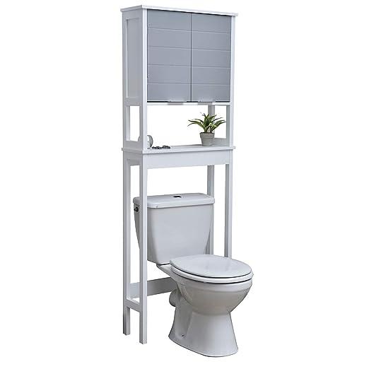 TENDANCE Mueble Encima del retrete WC - 1 Espacio de ...