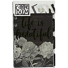 Carpe Diem Beautiful Personal Monthly Planner Inserts