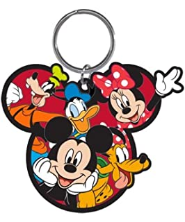 Amazon.com: Disney familia mamá Minnie Mouse lazo llavero ...