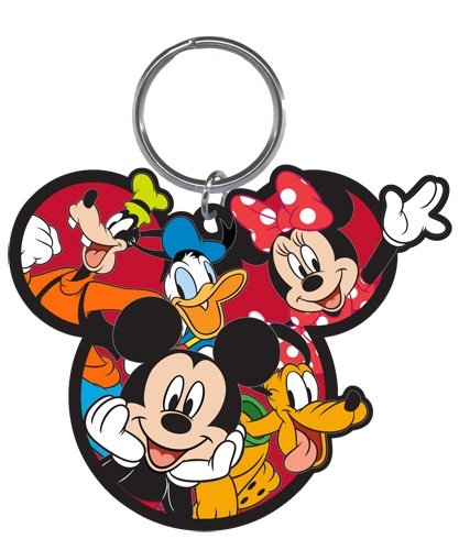 Amazon.com: Disney Gang Mickey Goofy Donald Pluto Minnie ...