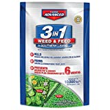 Bayer Advanced 704841B 3 in 1 Weed and Feed Fertilizer for Southern Lawns