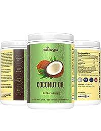100% aceite de coco virgen orgánico 0,14 oz por porción, 360 softgels, máxima potencia del mercado,...