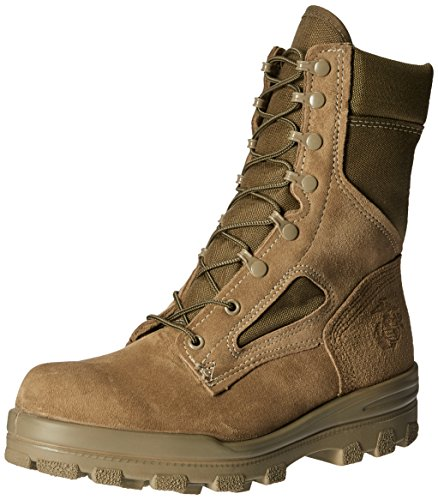 Bates Men's USMC DuraShocks HOT Weather Military & Tactical Boot Olive Mojave 10.5 W US