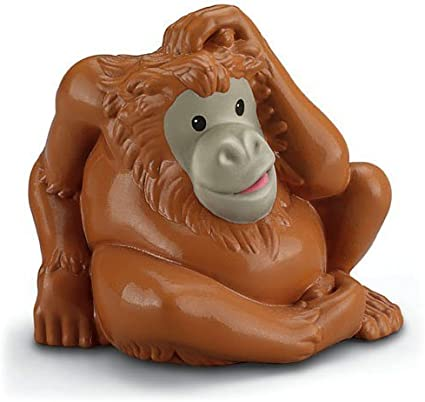 Fisher Price Little People Zoo Talkers Orangutan Monkey