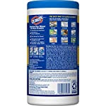 Clorox Disinfecting Wipes with Micro-Scrubbers, Bleach Free Cleaning Wipes - Crisp Lemon, 70 Count Each (Pack of 3) 19 DISINFECTING WIPES: Clean and disinfect with a powerful antibacterial wipe killing 99.9% of bacteria and viruses and remove common allergens around your home SANITIZING WIPE: Clorox Micro-Scrubber sanitizing wipes are thick with double sided texture to remove tough dirt, messes and baked on soils MULTI-SURFACE CLEANER: Clorox cleaning wipes clear drying formula powers through grease, soap scum and grime so you can conveniently tackle any tough surface including finished wood, sealed granite and stainless steel