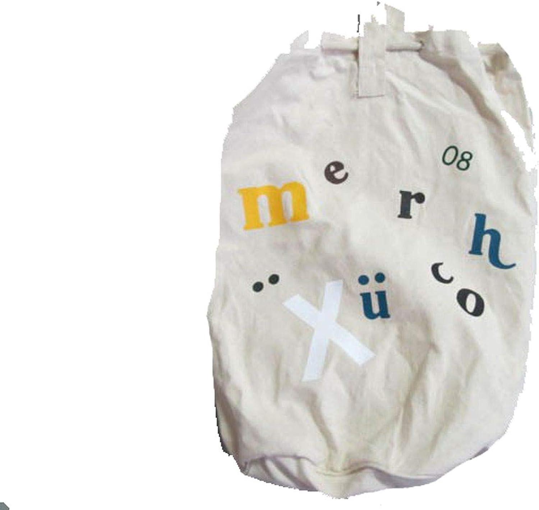 Miniblings Lona bolsa estuche de algodón bolsa de deporte letras blancas: Amazon.es: Zapatos y complementos