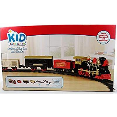 Kids Connection 22 Piece Train Set - Battery Operated: Toys & Games