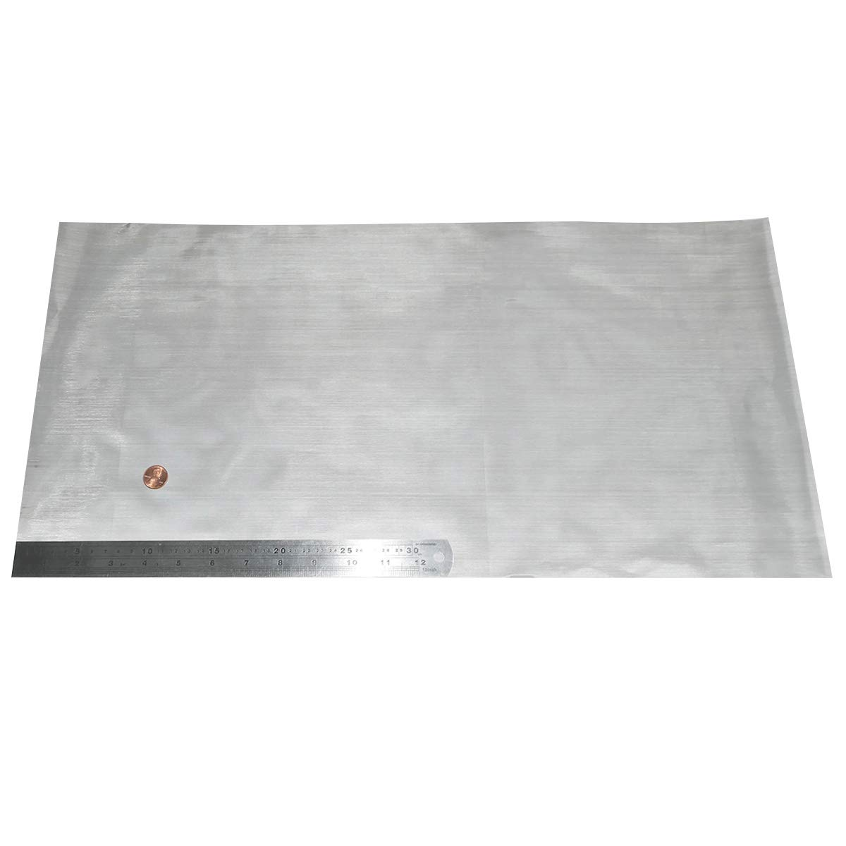 200 Tejido de malla de alambre 30 cm x60 cm x0.075 mm Super Fine 304L acero inoxidable 34% á rea abierta YinXiang
