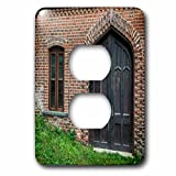 3dRose Roni Chastain Photography - Window and Door - Light Switch Covers - 2 plug outlet cover (lsp_269609_6)