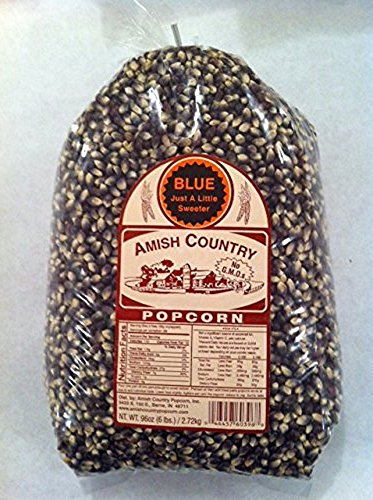 Amish Country Popcorn Blue Large 6 Pound - Purple Sale Honey For