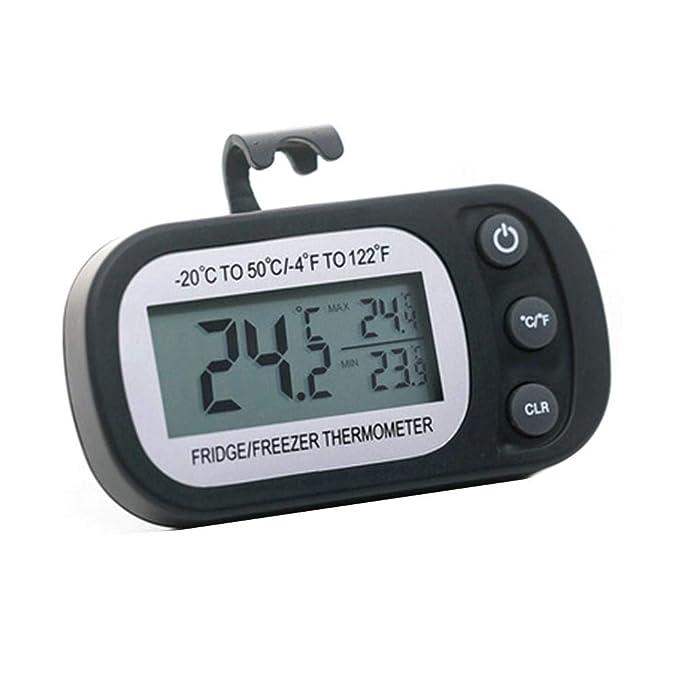 Termómetro Digital a Prueba de Agua para refrigerador/congelador ...