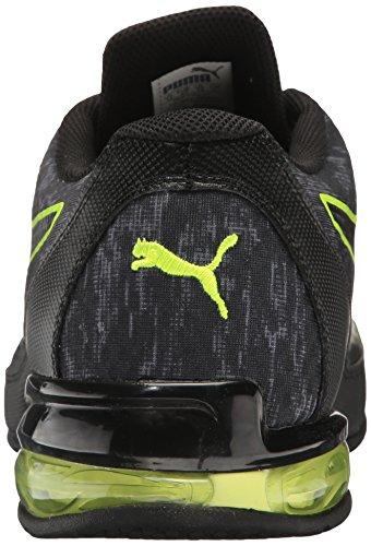 Puma Heren Reverb Grafische Cross-trainer Schoen Rustige Schaduw-puma Zwart-gele Veiligheid