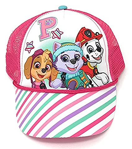 f3a98fa18dc Image Unavailable. Image not available for. Color  Nickelodeon Paw Patrol  Girls Baseball Cap Hat
