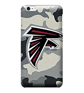 iPhone 6 Plus Case, NFL - Atlanta Falcons Camo - iPhone 6 Plus Case - High Quality PC Case