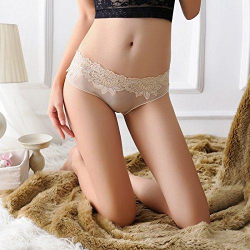 573105d4ad RangYR Señoras Sexy Underwear Underwear Encajes Ropa Interior Femenina Gasa  Transparente Briefs Outlet