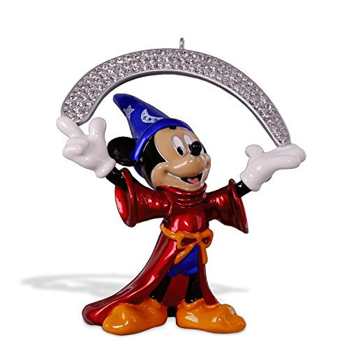 Fantasy Ornament - Hallmark Keepsake Christmas Ornament 2018 Year Dated, Disney Fantasia The Sorcerer's Apprentice, Metal
