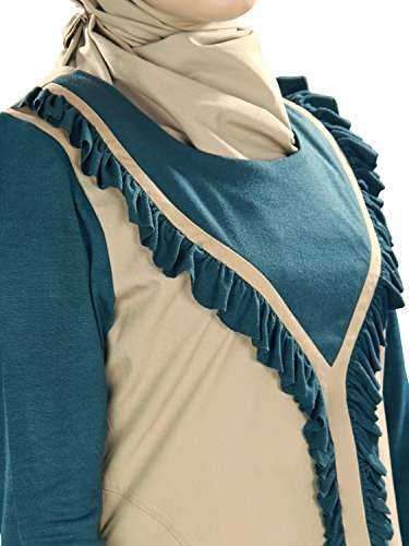 Sleeves Frauen Trendy Jersey Mit MyBatua Abaya Cotton z1w88