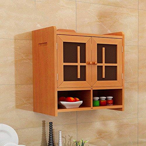 DIDIDD Armarios de cocina de madera maciza Aparadores Armarios de armario de armarios de almacenamiento simple Estantes de...