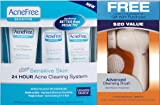 Acnefree Sensitive Skin Acne Clearing System with Free Cleansing Brush, 10.4 Ounce