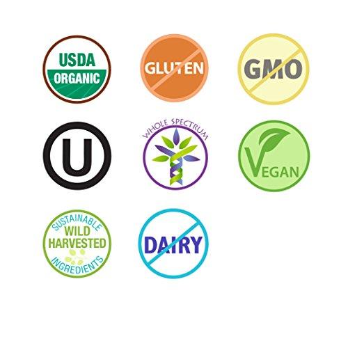 Pure Synergy USDA Organic Klamath Blue Green Algae Powder (3.2 oz) Fully Tested, Non-GMO by Pure Synergy (Image #5)