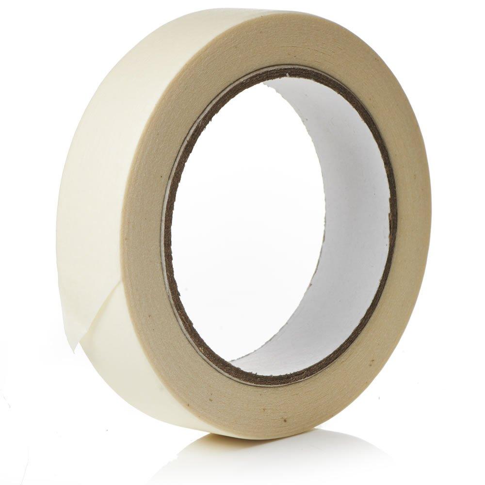 1/rouleau de ruban de masquage Premium/ /50/m X 19/mm/ /Haute Qualit/é Peinture et d/écoration adh/ésif Fort par Gocableties