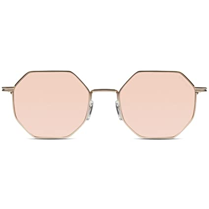 682083e3e6 Image Unavailable. Image not available for. Color  Komono CRAFTED Monroe  Sunglasses in Rose Gold