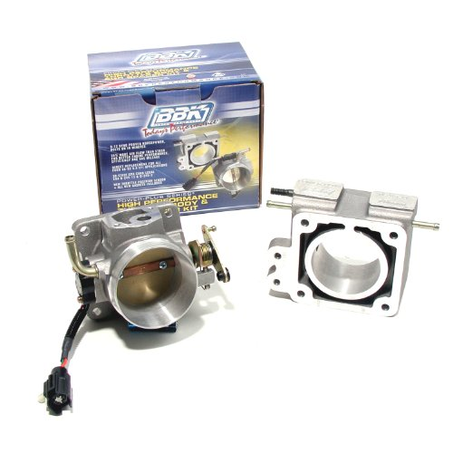 BBK 1500 70mm Throttle Body And EGR Spacer Plate Kit - High Flow Power Plus Series for Ford Mustang 5.0L