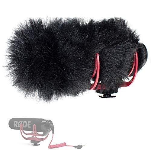 Barcelonetta GO | RODE Videomic GO Deadcat | Wind Muff [Microphone Fur Windscreen], Black (Windscreen Microphone Fur)