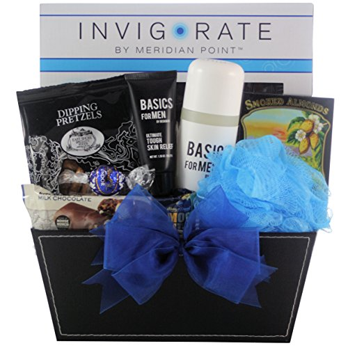GreatArrivals Gift Baskets Especially for Men, Father's Day Spa Basket, 5 (Greatarrivals Fathers Day)