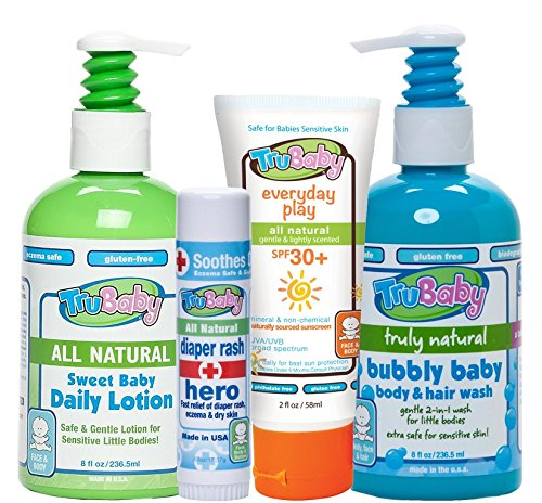 TruBaby Daily Essentials 4-Piece Starter Set