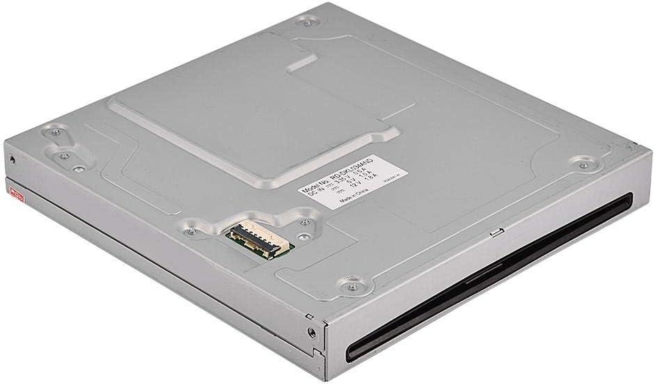 Warinner Unidad de disco duro para consola NES WIUU Unidad óptica interna de disco duro delgado Unidad de repuesto Piezas de repuesto, cubierta metálica de aleación de aluminio simple y portátil