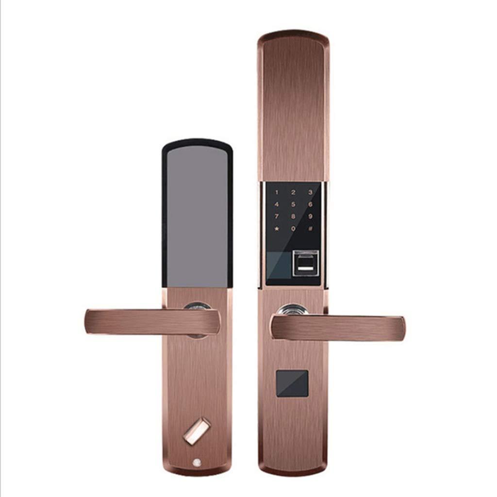Fingerprint Lock Home Slide Type Optical Fingerprint Lock Key Password Electronic Lock Door Lock Home Door Lock Office Door Lock
