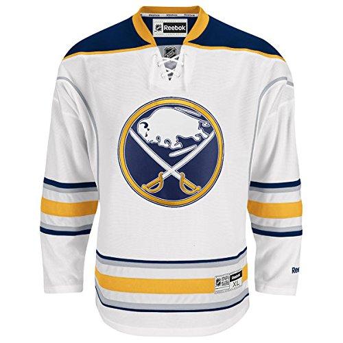 NHL Buffalo Sabres Premier Jersey, White, X-Large