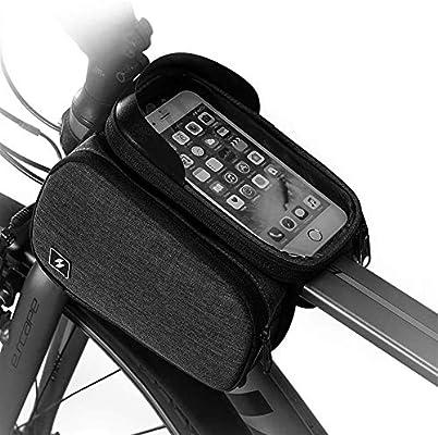 LXYSSB Bolsa Cuadro de la Bicicleta Paquete Eva Agua Que salpica ...