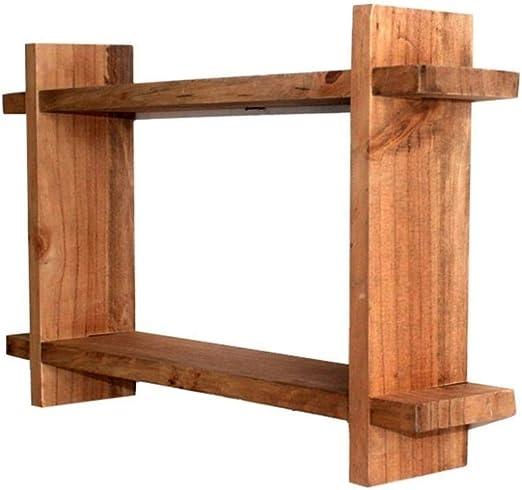Estilo Vintage Pared Material de los estantes de madera for bar / cocina / sala de estar / dormitorio
