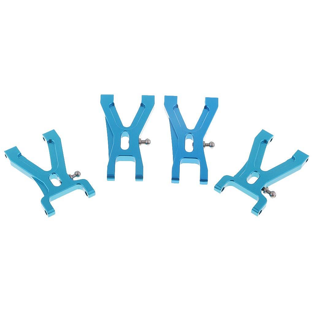 Blau B Blesiya 4 x Querlenkerlager Lenkung Vorder Hinten f/ür 1//18 Wltoys A959-02