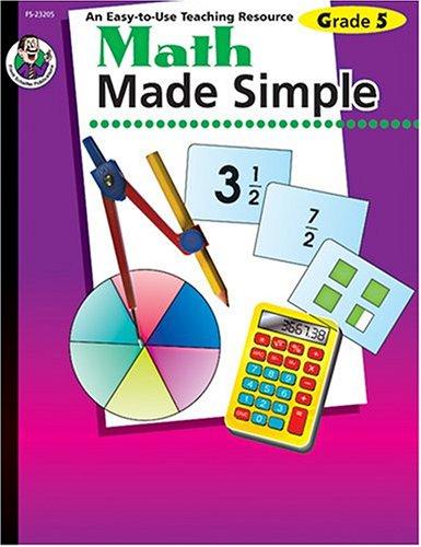 Math Made Simple, Grade 5