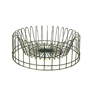 Amazon Com Creative Round Metal Plate Rack Home Amp Kitchen
