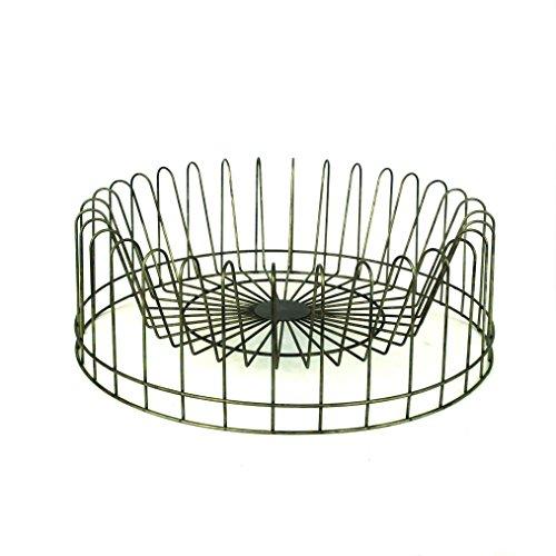 Creative Round Metal Plate Rack (Metal Plate Rack)