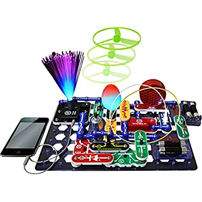 Elenco Electronics Snap Circuits R Deluxe Sound & Light Combo: Toys & Games