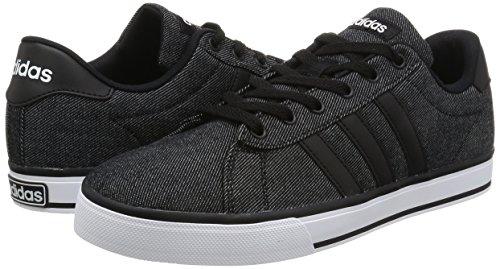 Adidas SE Daily Vulc Unisex sportschuhe, Schwarz–