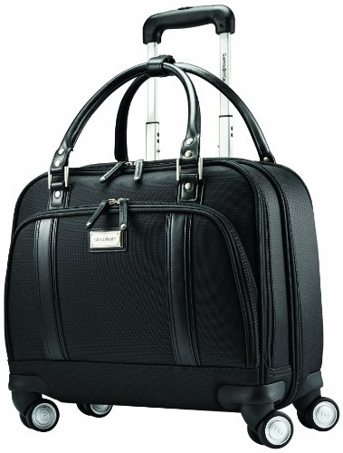 (Samsonite Women's Spinner Mobile Office, Black)